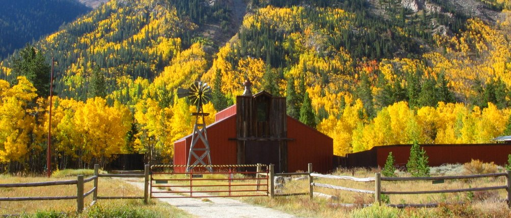 Colorado Autumn Photos Twin Lakes Co And Independence